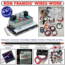 ron francis wiring wiring harness diagram at Car Wiring Harness