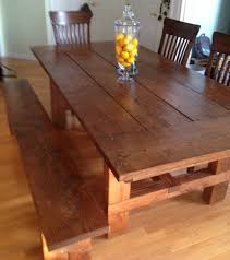 Bench Style Kitchen Table How To Build A Bench Style Kitchen Table Cliff Kitchen