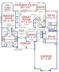 SingleLevel House Plans Wo Garage From DrummondHousePlanscomSingle Level House Plans