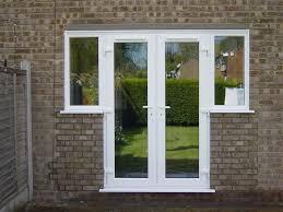 built unblocked doors exterior patio double glass pella lowe