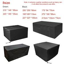 waterproof cube set cover designed for