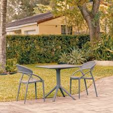 sunset patio dining set with 2 chairs