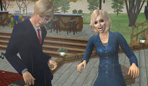 Trump and Hillary Sims 2 by Simdrew1993 on DeviantArt