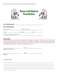 owner responsibility form ownersurrenderreleaseimg jpg