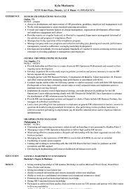 sample hr director resumes hr operations manager resume samples velvet jobs