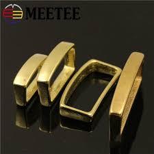 <b>2pcs Meetee 20mm 25mm</b> 32mm 40mm Pure Copper Belt Buckle ...