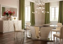 Moderner Esstisch Glas Oval Babylon Formenti