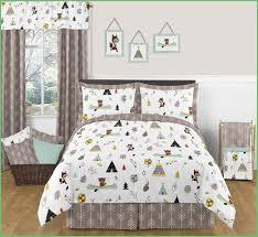 woodland animal toddler bedding cozy best kids room images on