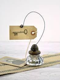 Vintage Door Knob Photo Holder / Wire Picture or Card Holder ...