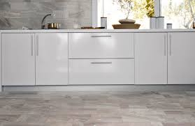 Different Types Of Kitchen Flooring Gray Tile Kitchen Floor With White Cabinets Google Search