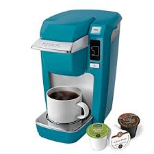 keurig mini aqua. Contemporary Mini Keurig K10 Mini Plus Brewing System Aqua In Amazoncom