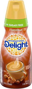 8 $56 60 ($0.29/fl oz) International Delight Sugar Free Hazelnut Coffee Creamer 32 Fl Oz Bottle Hy Vee Aisles Online Grocery Shopping