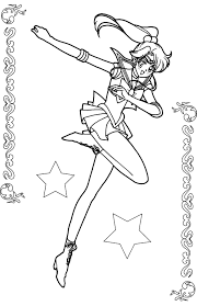 Small Picture Pictures Sailor Jupiter Coloring Book Coloring Pages Pinterest