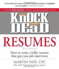 9781440536816 Knock Em Dead Resumes How To Write A Killer Resume