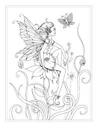 Coloring Pages Fairies Fairies Coloring Pages For Adults Coloring