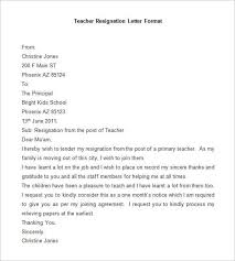 Resigned Format 69 Resignation Letter Template Word Pdf Ipages Free
