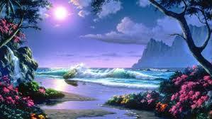 fantasy landscape art artwork