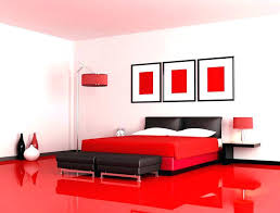 Black And Red Bedroom Decor Red Room Decor Red And Black Room Red ...