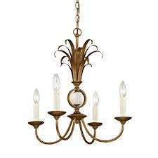 pinnacle 4 light burnished gold pendant with marble accent