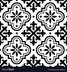 Moroccan Tile Pattern Amazing Spanish Tile Pattern Moroccan Tiles Seamless Vector Image