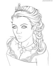 Queen Coloring Pages Download And Print For Free Elf Princess