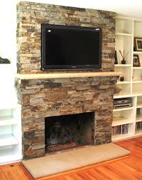design creative stone fireplace remodel stacked stone fireplace designs ideas