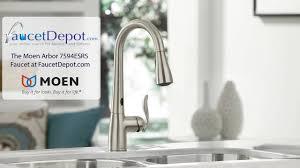 Moen Arbor Kitchen Faucet Moen 7594esrs Arbor Single Handle Hole Pull Down Kitchen Faucet