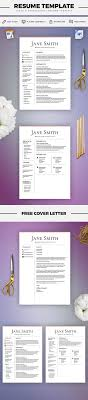 147 Best Images About Elegant Resume Templates On Pinterest Free