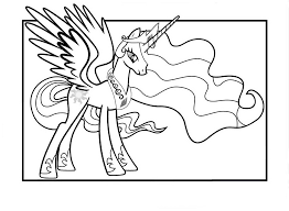 You can choose other coloring pages for kids from unicorn category. Princess Celestia Coloring Pages Best Coloring Pages For Kids