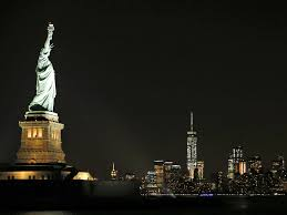 Light Emitting Wallpaper Statue Of Liberty Shines Bright With New Led Lights Crains New