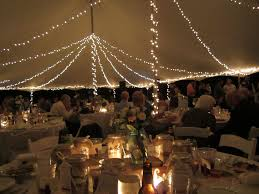 Tent String Lights Outdoor Tent Wedding With White Christmas Lights Love The