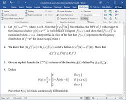 What Is Another Word For Document Mathtype Browse Equations In A Word Document
