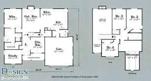 4 bedroom home floor plans