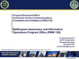 Pmw 150 Org Chart Transforming Navy C4i To Meet The Present And Future Ppt