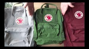Fjallraven Us Size Chart Fjallraven Kanken Classic Mini And Laptop 15 Backpack Comparison Tekuben Com