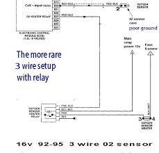 testing oxygen sensor inside bosch o2 sensor wiring diagram best