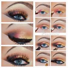 20 incredible makeup tutorials for blue eyes middot eyeshadow howso that you cando smokey eye make