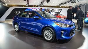2018 kia blue. fine 2018 new york auto show 2018 kia rio sedan shows crisp design in intended kia blue