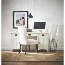 white desk home office. White Desks Home Office Furniture The Depot Intended For Brilliant Household Desk With Shelves Designs