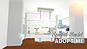 Aesthetic Kitchen Adopt Me Speed Build Youtube