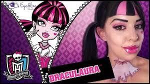 draculaura monster high makeup tutori