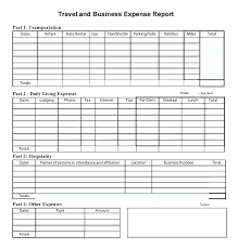 Expense Report Template Excel Free Employee Expense Report Template
