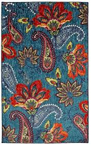 mohawk home new wave whinston paisley fl contemporary area rug 6 x 9 multicolor