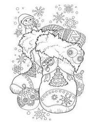 Forest Animal Coloring Page Octopus Christmas Coloring Page Adult Color Holidays Beach