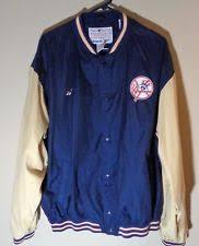 reebok windbreaker. new york yankees retro 90s button-down windbreaker jacket by reebok --xl
