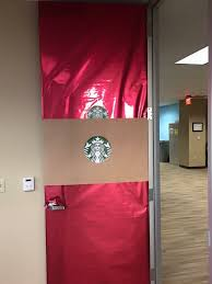 office door decorating. My Door Was Voted \u201cmost Offensive\u201d In The Office Holiday Decorating Contest. E
