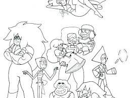 Steven Universe Coloring Pages Fusions Universe Coloring Pages