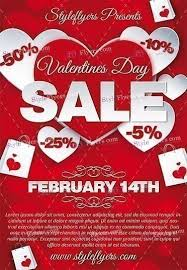 Valentines Flyers Valentines Day Sale Psd Flyer Template