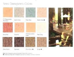 Behr Semi Transparent Wood Stain Color Chart Semi Transparent Exterior Stain Samsflowers Co