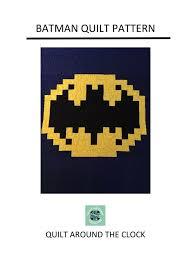 Best 25+ Batman quilt ideas on Pinterest | Crochet batman, Make my ... & Batman Quilt Pattern | Quilting Pattern | PDF pattern | immediate download  | Superhero Quilt by Adamdwight.com